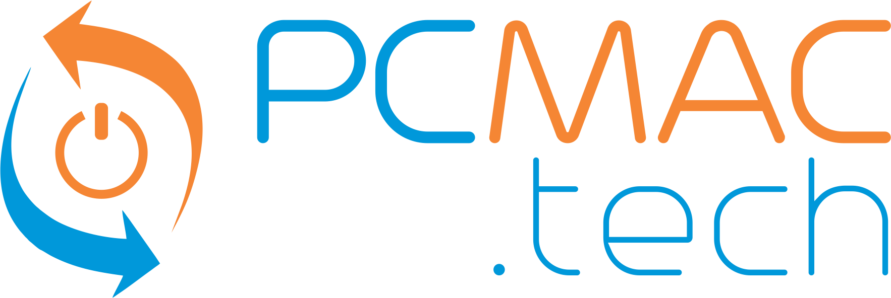 PCMac logo, computer repair, tech support, PC repair, Mac repair, network cabling, WiFi, cloud backup, Ottawa ON